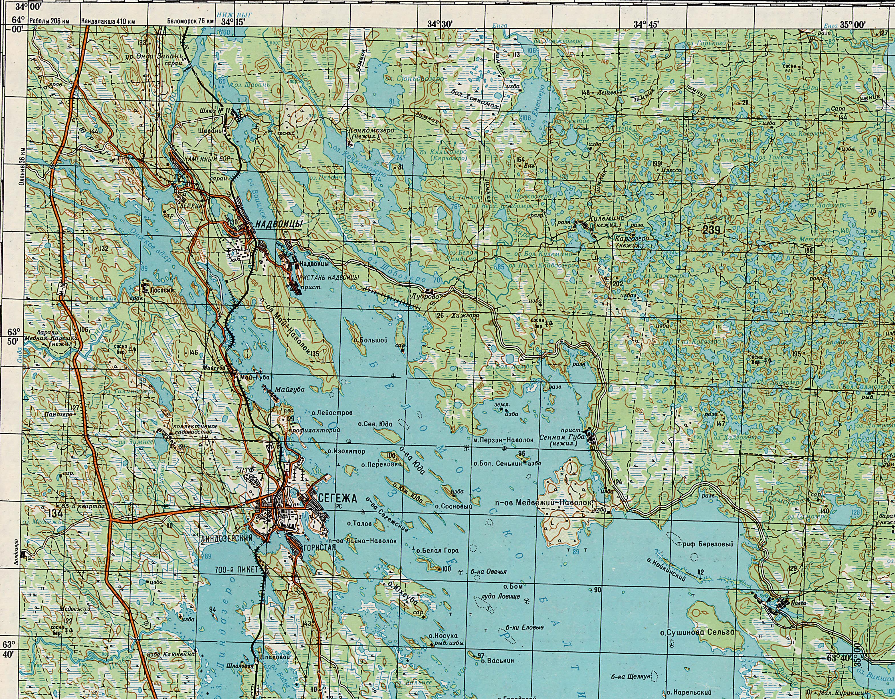 карелия карта фото секрет